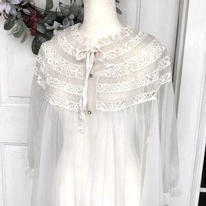 Sheer Vintage Robe